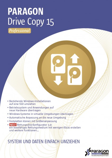 Paragon Drive Copy 15 Professional