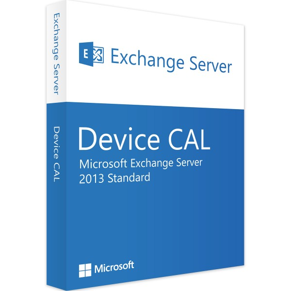 Microsoft Exchange Server 2013 Std 1 Device CAL