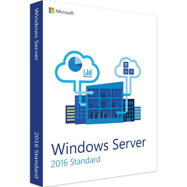 Windows Server 2016 Standard 16 Core