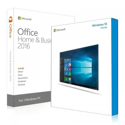 Windows 10 Home + Office 2016 Home & Business Download + License Key