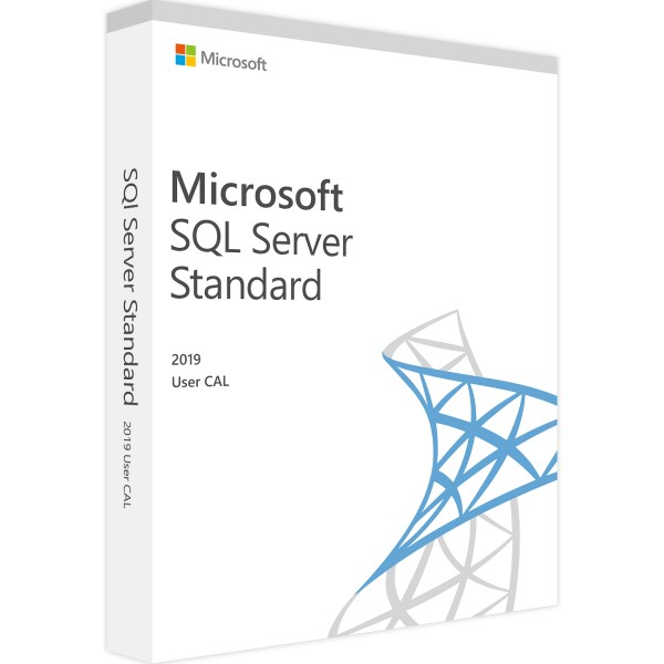 SQL Server 2019 Standard - 1 User CAL