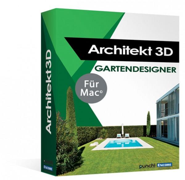 Avanquest Architekt 3D X9 Gartendesigner 2017 für MAC