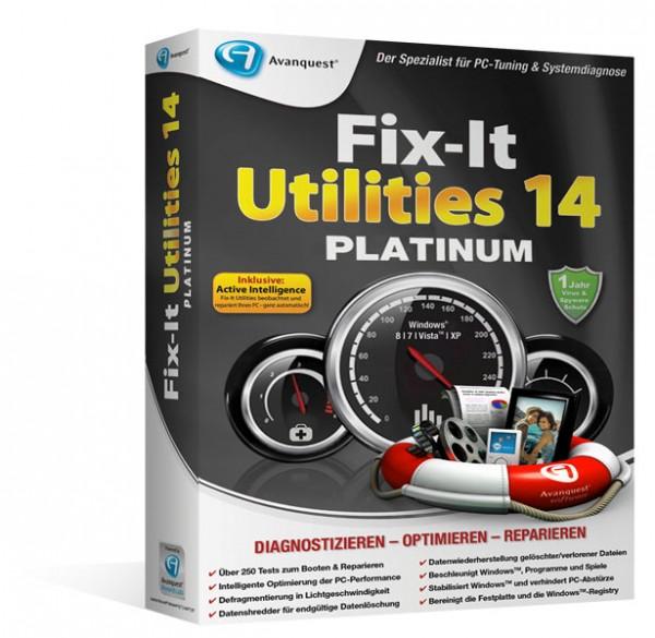 Avanquest Fix-It Utilities 14 Platinum