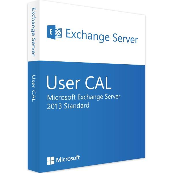 Microsoft Exchange Server 2013 Std 1 User CAL